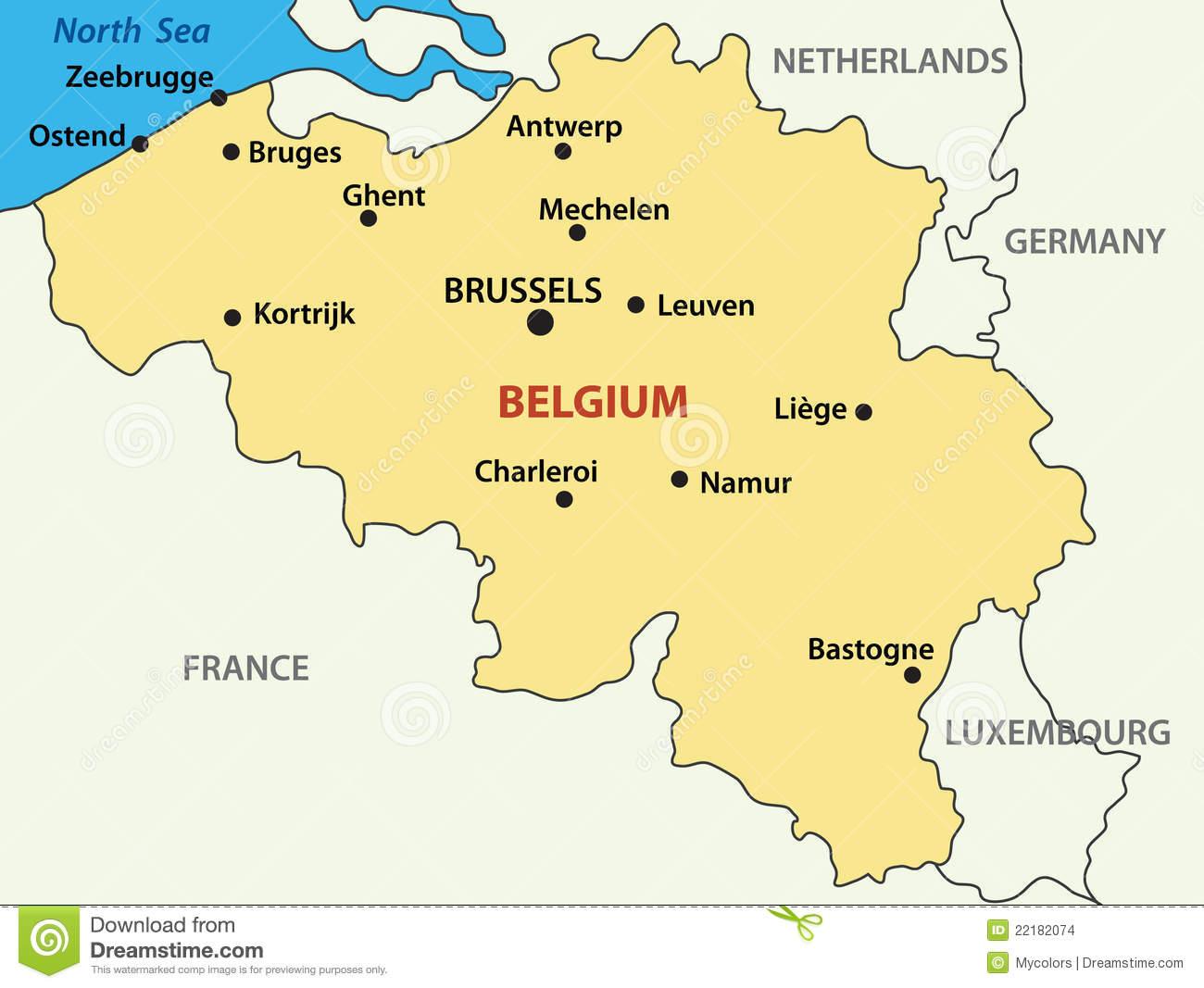 Бельгия где она находится